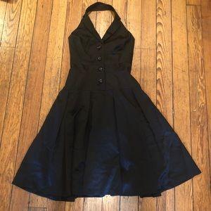 Halter satin formal dress!